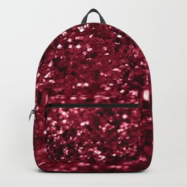 Sparkling RED Lady Glitter #1 #decor #art #society6 Backpack