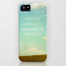 the road goes ever on Slim Case iPhone (5, 5s)