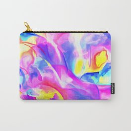 Floral Drama Abstract Carry-All Pouch