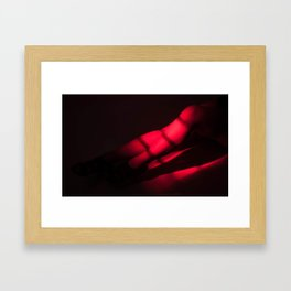 redlight Framed Art Print