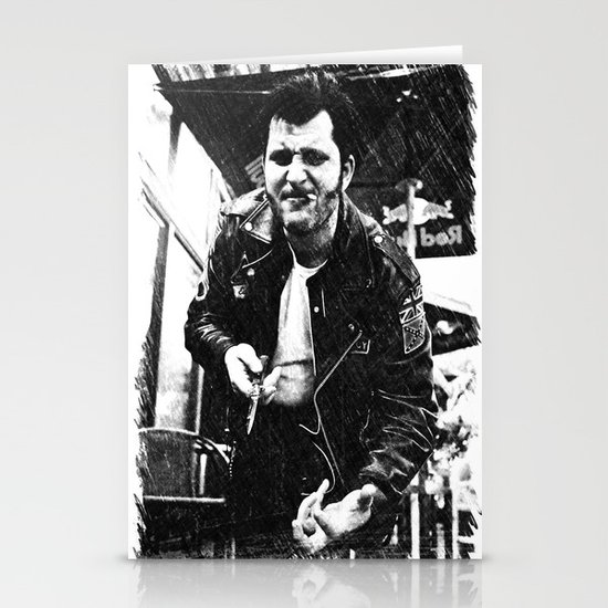 Greaser Johnny Stationery Cards