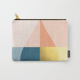 Geometric raindrop Carry-All Pouch