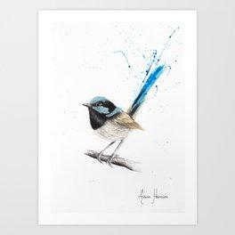 Wren Wisdom Art Print