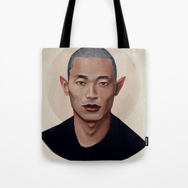 Elf Portrait Tote Bag