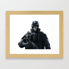 Rainbow Six: Mute Framed Art Print