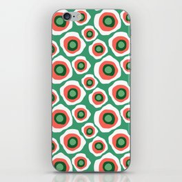 Fried Circles, Minty Yam iPhone Skin