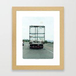 Daily Truck: 09/01/15 Framed Art Print