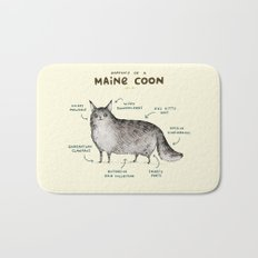 Anatomy of a Maine Coon Bath Mat