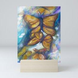 Shaded Wings Mini Art Print