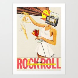 Sell Your Soul to Rock n' Roll Art Print