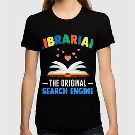 Funny Librarian Shirt. Costume From Kids T-shirt