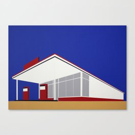 Gas Station 27 Canvas Print