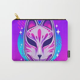 Neon Noh - Kitsune Carry-All Pouch