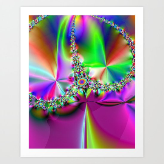 Crown Jewels Art Print