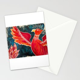 May the Phoenix Rise Stationery Cards
