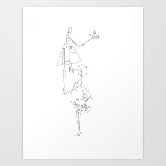 paper_11 Art Print