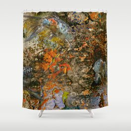 Spotted Koi Shower Curtain