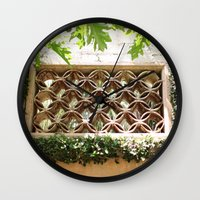 tangled Wall Clocks featuring Tangled  by Sandiest Photography