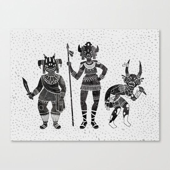 Shadow Warriors Canvas Print