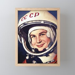 Rubino Valentina Tereshkova First Woman in Space Painting Framed Mini Art Print