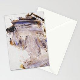 Purple Palette Knife Stationery Cards