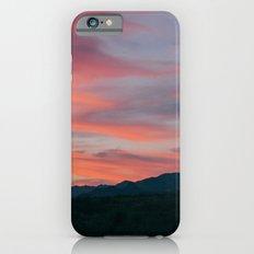 Sunset in the desert Slim Case iPhone 6s