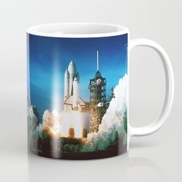 Space Shuttle Launch Coffee Mug