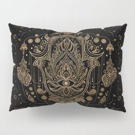 Hamsa Hand -Hand of Fatima Ornament Pillow Sham