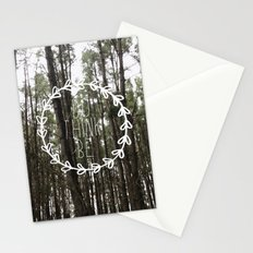 do think be positive Stationery Cards
