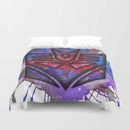 Transformers Decepticon ColorSplash Duvet Cover