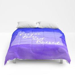 Oregon - Born and Raised Comforters