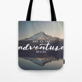 Trillium Adventure Begins - Nature Photography Tote Bag