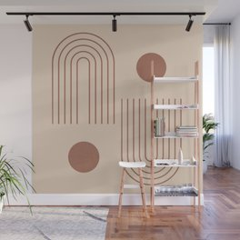 Minimal Geometric 72 Wall Mural