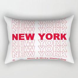 NEW YORK NEW YORK NEW YORK Rectangular Pillow