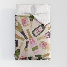 French Champagne Collection – Pink & Green Comforters