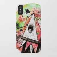 sandman iPhone & iPod Cases featuring Sandman by Logan David