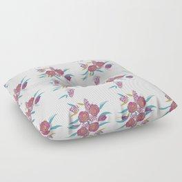 Vibrant Bouquet Floor Pillow