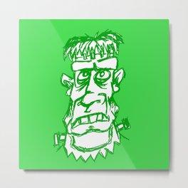 My Name Is Not Frankenstein Metal Print