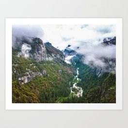 Dream of the Wild, Yosemite National Park Art Print