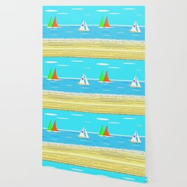 Sailing - Beach Life Wallpaper