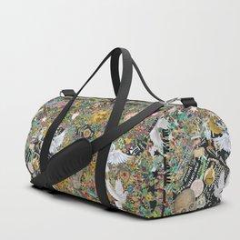 Leopard confetti world peace Duffle Bag