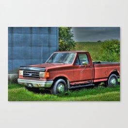 'Farm Truck' Canvas Print