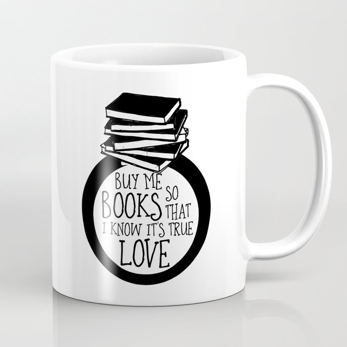 Bookish Engagment Coffee Mug