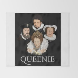 """Queenie"" Throw Blanket"