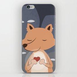 Peaceful Fox iPhone Skin