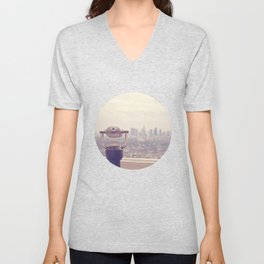 The View: Los Angeles Unisex V-Neck