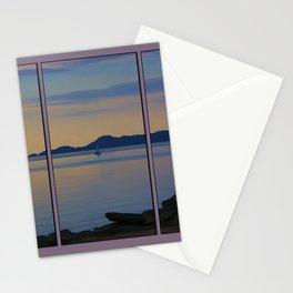 Serenity Tryptych Stationery Cards