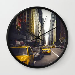 Street Fever Wall Clock