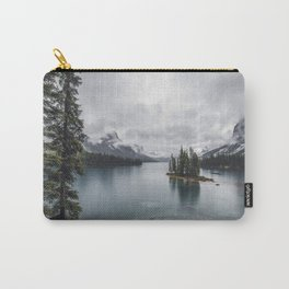 Maligne Lake Jasper Alberta Carry-All Pouch