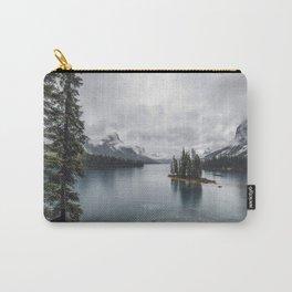 Maligne Lake Jasper Alberta Carry-All Pouch